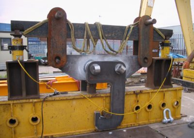 55t Flask Lifting Beam under 110t Proof Load
